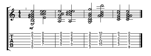Guitar 12 string guitar chords : Aural Illusion: How to Mimic a 12-String Guitar